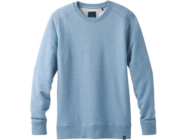 Prana Asbury LS Crew Shirt Herr sunbleached blue heather